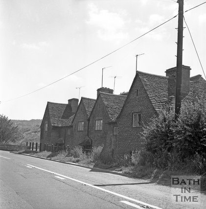 Box Road, Bathford, Batheaston Relief Road affected areas, 14 July 1971