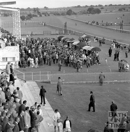 A day at Bath Races, 2 August 1971