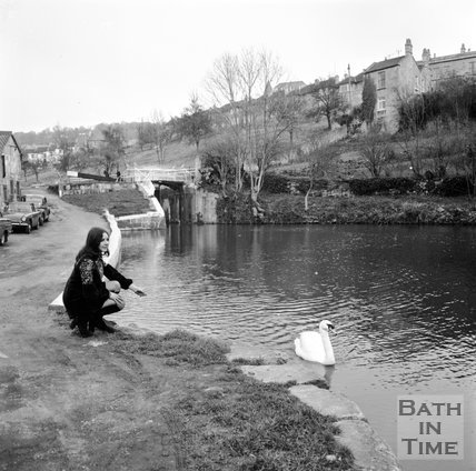 Kennet & Avon Canal, Bath, 14 March 1972