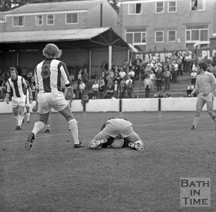 Bath City versus Wealdstone, 12 August, 1972