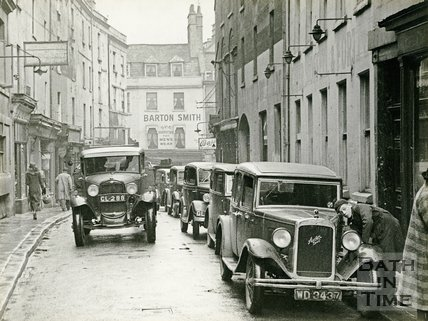 Upper Borough Walls, Bath c.1935