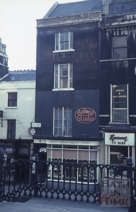 The Golden Fleece, 8, George Street, Bath c.1966