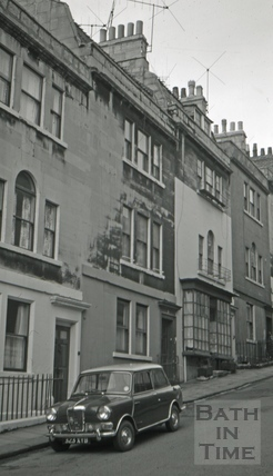 The Fox and Hounds/The Dorset House, 9, Morford Street, Bath 1966