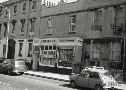 The Midland Arms, 25, Monmouth Street, Bath 1966