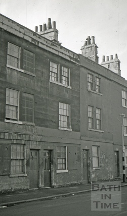The Hope and Anchor/The Plasterer's Arms, 16, Corn Street, Bath 1966