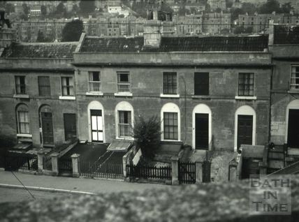 The Cleveland Tavern/The Lamb, 9, Hampton Row, Bath 1966