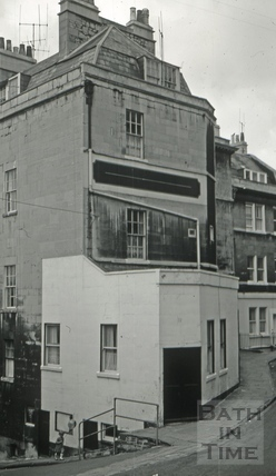 The Portland Arms, 12a, Portland Place, Bath 1966