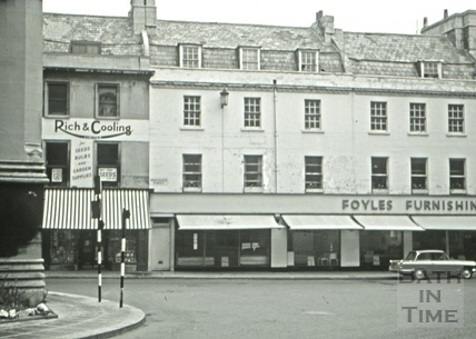 The Pack Horse/The Old Pack Horse, 7, Northgate Street, Bath 1966