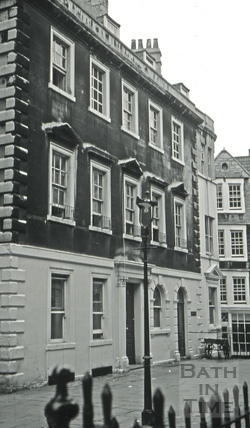 The North Parade Tavern/The North Parade Brewery, 10, North Parade Buildings (Gallaway's Buildings), Bath 1966