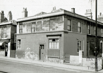 The Pack Horse, 1 & 2, Albert Terrace, Widcombe, Bath 1965