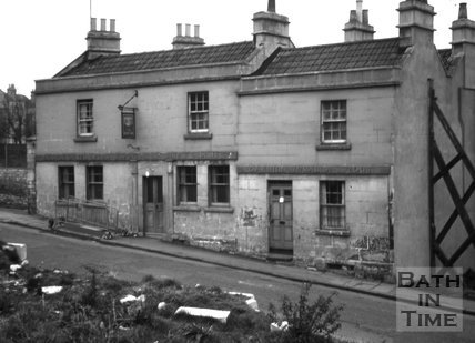 The New Inn, 8 & 9, Juda Place, Snow Hill, Bath 1966