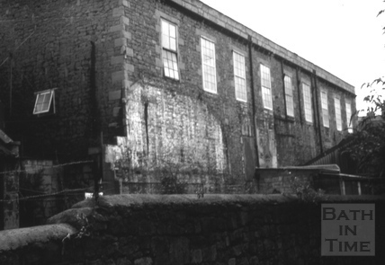 The Morford Brewery, Morford Street, Bath 1966