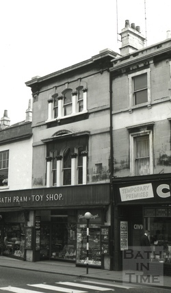 The Plough/The Nelson and Victory/The Southgate Hotel, 24, Southgate Street, Bath 1965