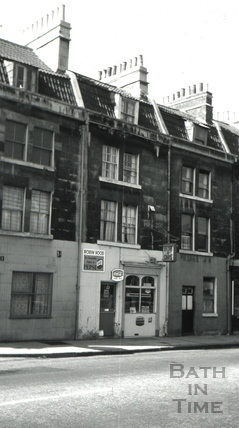 The Robin Hood, 8, St. George's Place, Upper Bristol Road, Bath 1966