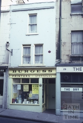 The Wheat Sheaf, 27, Broad Street, Bath 1965