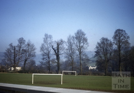 All Saints' School playing field, Weston, Bath 1958
