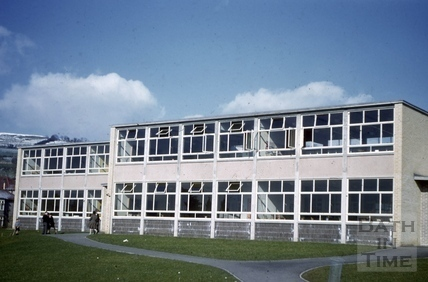 Newly built All Saints' School, Weston, Bath 1958
