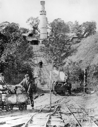 Lower Conigre Colliery inclined plane c.1880