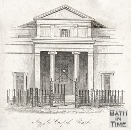 Argyle Chapel, Bath 1841