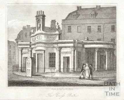 The Cross Bath, Bath 1818
