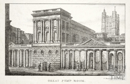 Great Pump Room, Bath 1823
