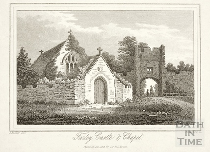Farley Castle and Chapel, Farleigh Hungerford 1823