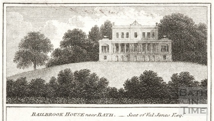 Bailbrook House near Bath c.1820