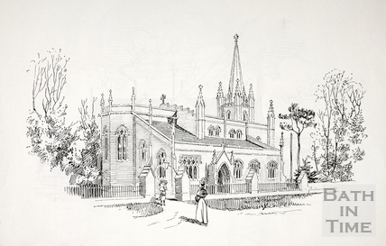 Holy Trinity Church, Combe Down, Bath c.1890-1920