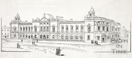 Bath Municipal Buildings, The Guildhall, High Street, Bath c.1890-1920