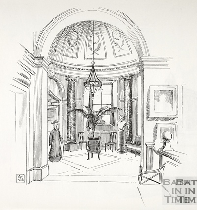 The Vestibule, Victoria Art Gallery, Bath c.1890-1920