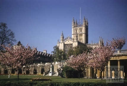 Bath Abbey, Bath 1960