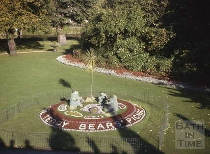 Teddy Bears Picnic, Parade Gardens, Bath 1963