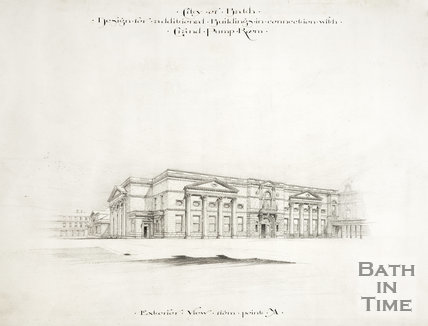 Design for additional buildings in connection with Grand Pump Room, Bath c.1894