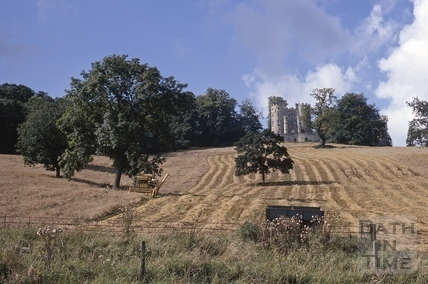 Midford Castle at harvesting time 1968