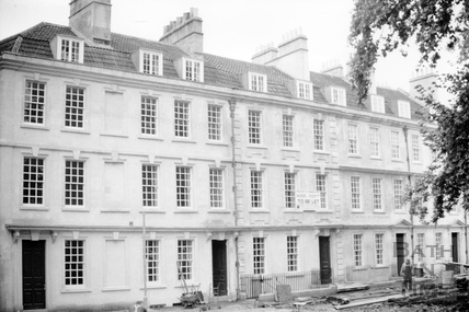 South side, Kingsmead Square, Bath 1976