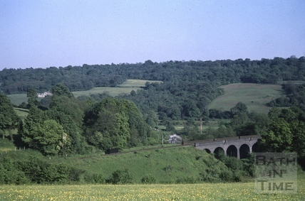 Tucking Mill viaduct c.1965