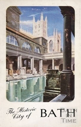 Bath Official Guide Book 1953