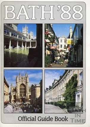 Bath Official Guide Book 1988