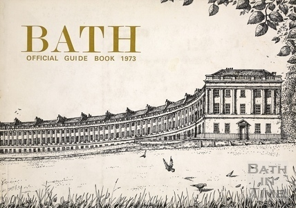 Bath Official Guide Book 1973