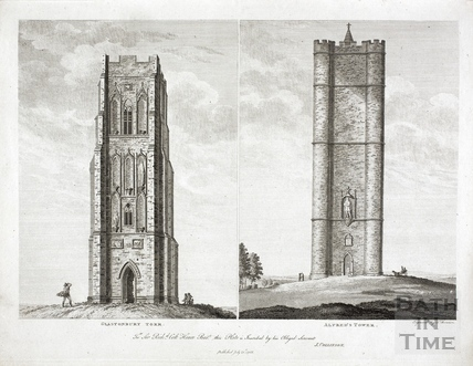 Glastonbury Torr and Alfred's Tower, Stourhead, Wiltshire 1788
