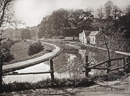 Tucking Mill and Somersetshire Coal Canal c.1880