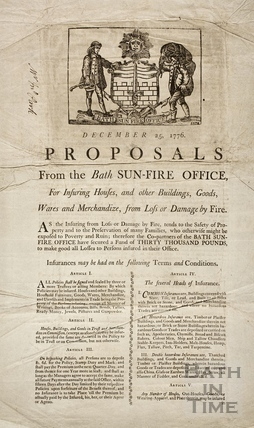 Proposals from the Bath Sun-Fire Office December 1776