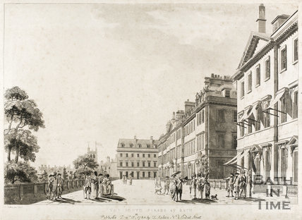 South Parade, Bath 1784