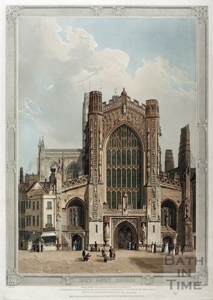 Bath Abbey Church, Bath 1822