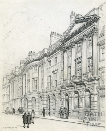 Somerset Buildings, Milsom Street, Bath 1939