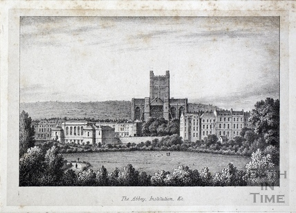 The Abbey, Institutions &c, Bath c.1822?