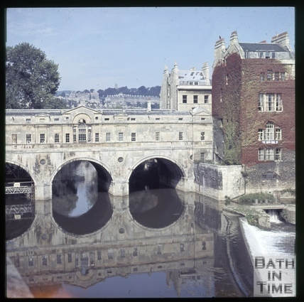 Pulteney Bridge, Bath c.1965