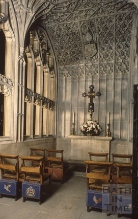 Prior Birde's Chantry, Bath Abbey, Bath