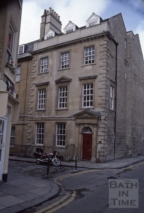 4, Abbey Street, Bath 1986