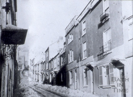 Ballance Street from Julian Road, Bath 1963